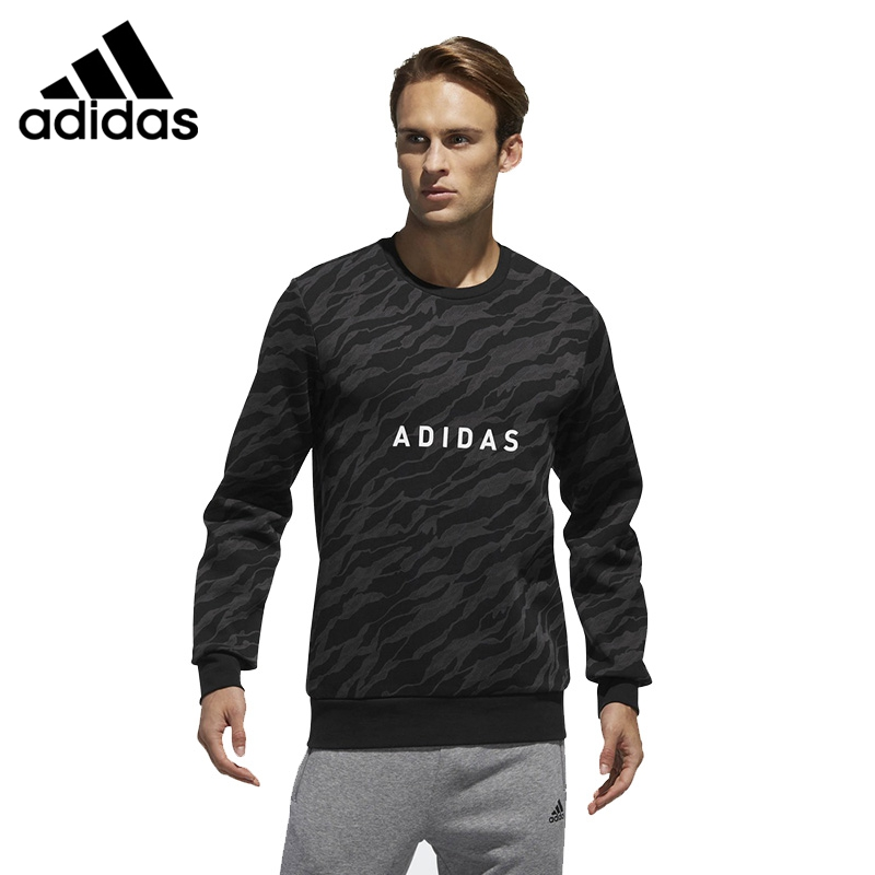 Original New Arrival 2018 Adidas EI GFX CS CAMO Men's Pullover Sportswear