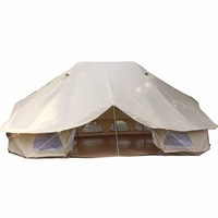 400*600*300/60cm(157.48*236.22*118.11/23.62inches) disaster relief tent flame retardant canvas warm tent indian canvas tent