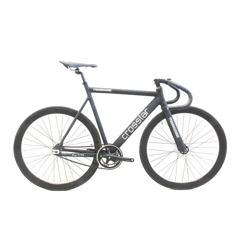 Bici fija Del Engranaje Track Bike Fixie Urbano Viaje Bike 40mm llanta de bicicl