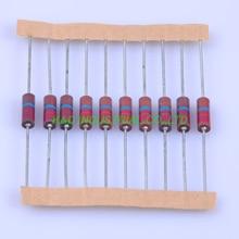 10pcs Carbon Composition vintage Resistor 0.5W 22M ohm 5 % цена