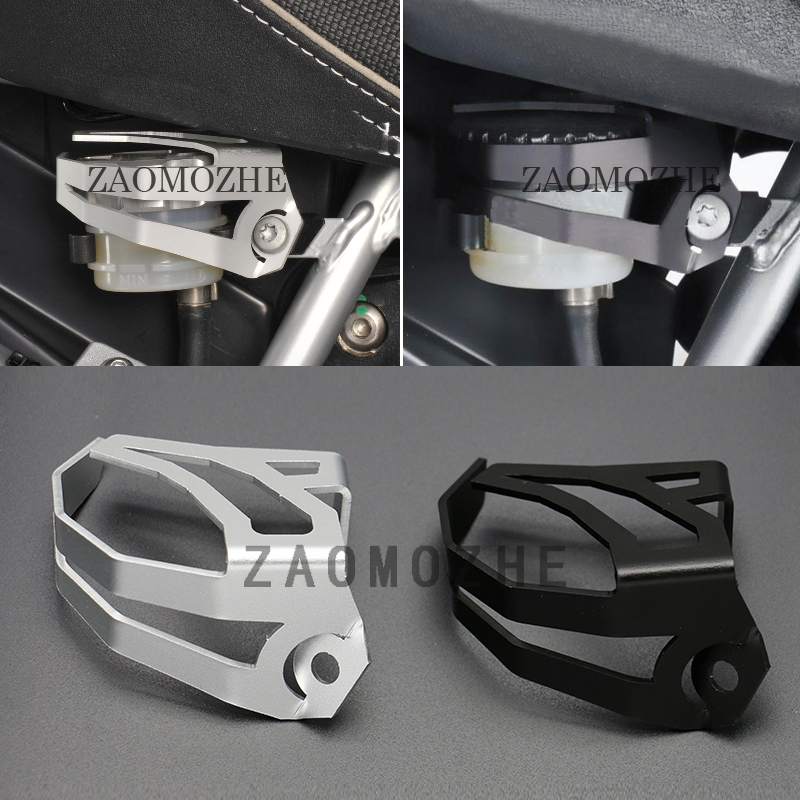 For BMW  R nine T Pure 2014 2017 Rear Brake Reservoir Cap Protector Guard for BMW R1200GS Adv enture 2008 2009 2010 2011 2012|guard|guard protector|  - title=