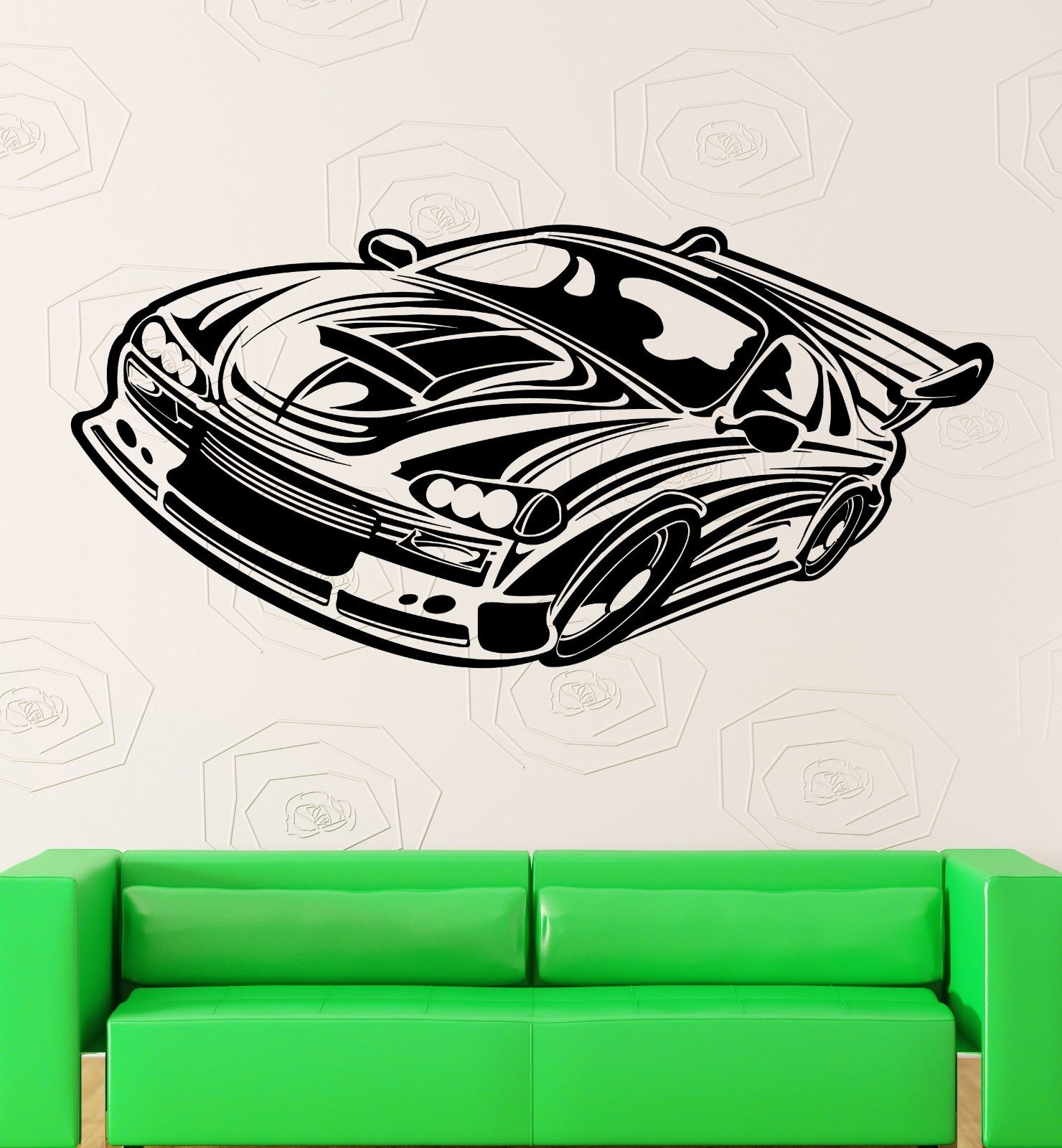 Online Get Cheap Race Car Wall Stickers Aliexpresscom Alibaba - Vinyl decals for race cars