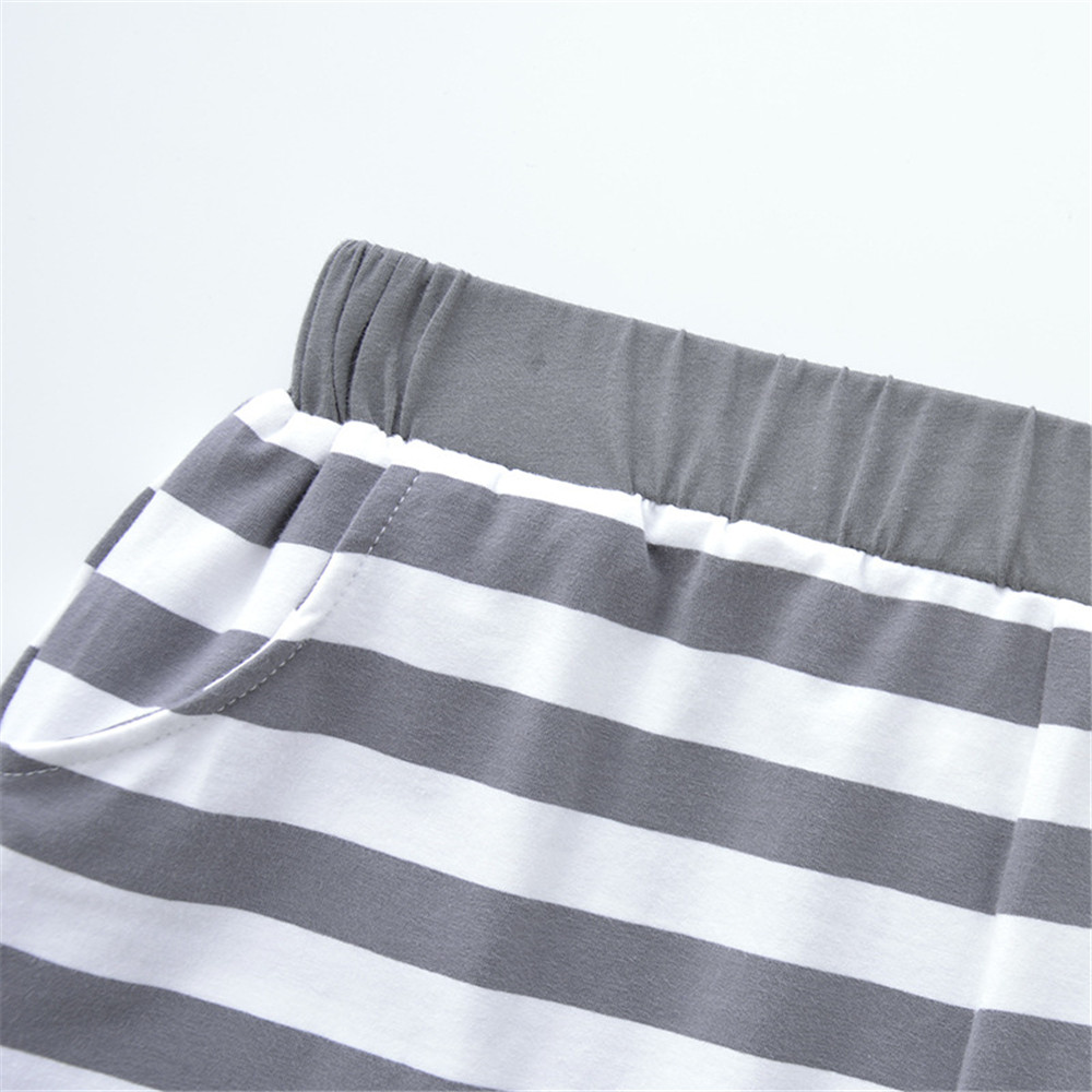 QIANXIU womens pajama bottoms comfortable cotton sleep shorts Loose Summer Thin striped pajama pants women sexy pijama femme