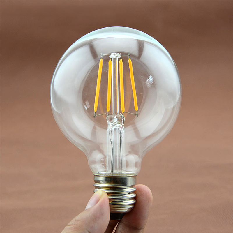 SUNLI HOUSE Antique Retro Vintage LED Edison Bulb E27 LED Light 220V ST64 G80 Glass Bulb Lamp 2W 4W 6W 8W Candle Light Lamp vintage edison bulb led e27 e14 lamp filament light vintage led bulb lamp 220v retro candle light 2w 4w 6w 8w g45 g80 g95 g125