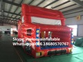 2016 new Factory direct Inflatable slide, inflatable castle, Inflatable jumping bed Car castle KYB-101