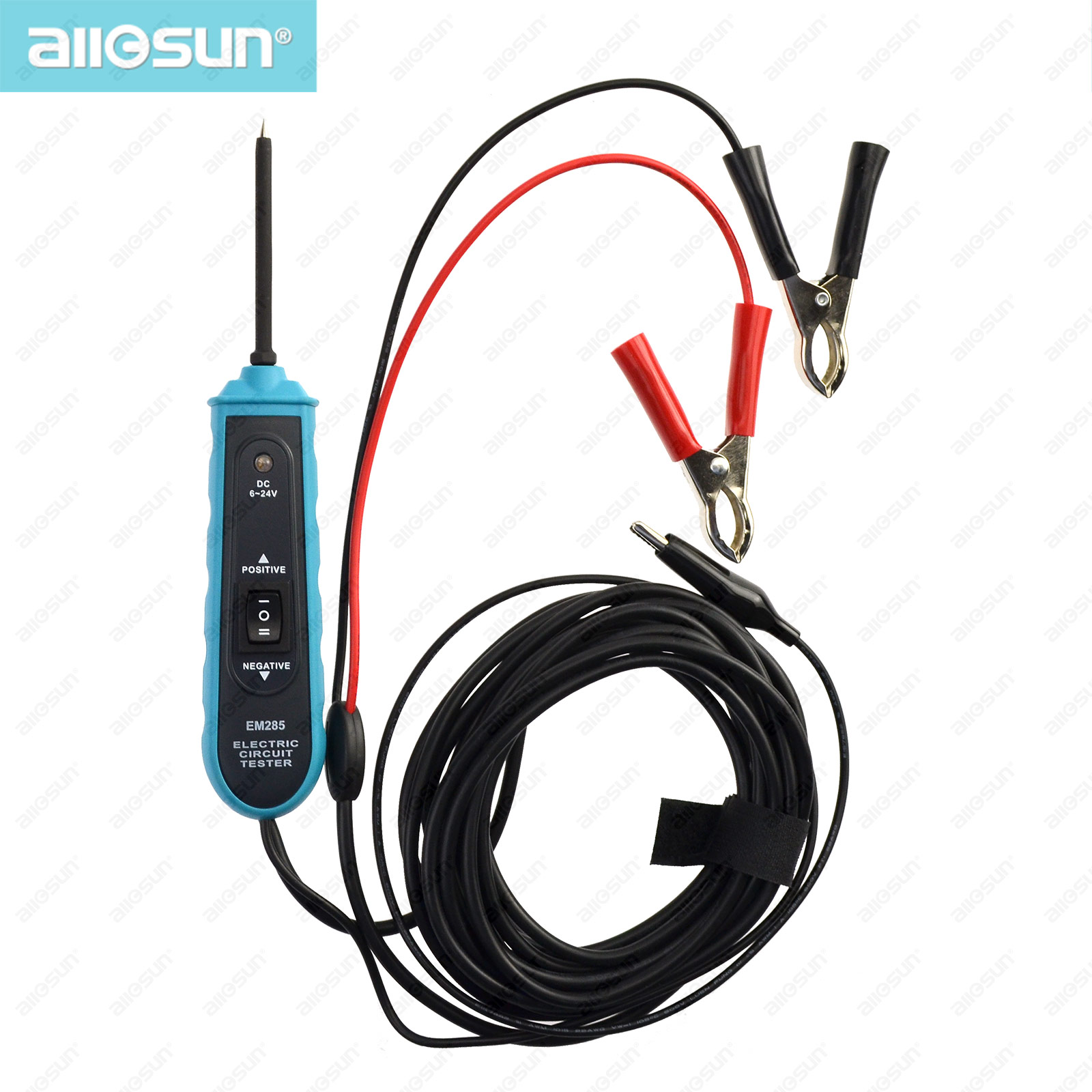 Automotive Electric Circuit Tester Car Electrical System Tools for continuity voltage cable font b lamp b