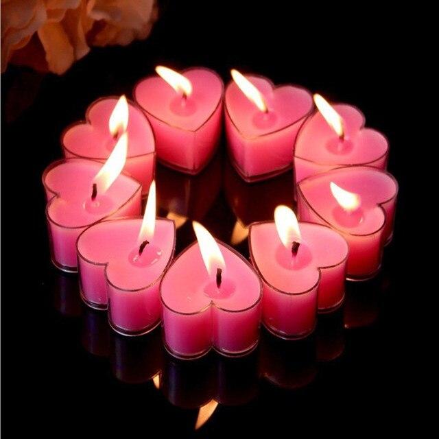 9 Stucke Ich Liebe Kerze Kerzen Romantische Rauchfreie Geburtstag