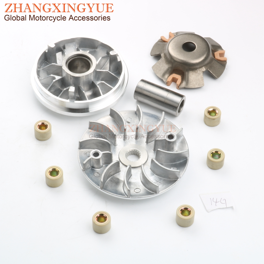 115mm 19t Cvt Performance Variator Fan Gy6 125cc 150cc 152qmi 157qmj Baja Baotian Kazuma Buggy Atv Scooter Parts Atv,rv,boat & Other Vehicle