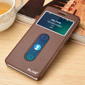 Brand New High Quality Daul Window View Stand Leather Case For Lenovo K3 Note