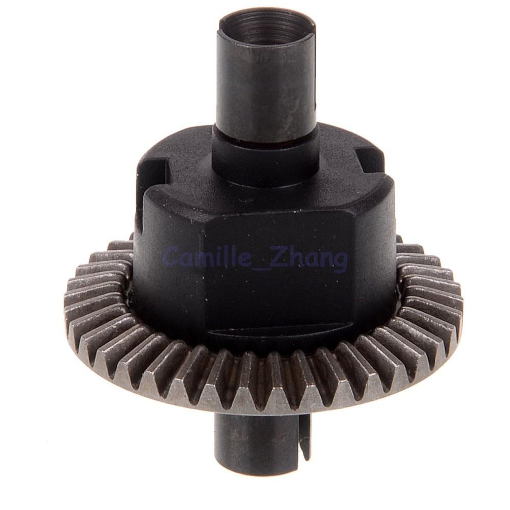 Diff.Gear Komplet 38T 02024 HSP Reservedele Til 1/10 R / C Model Bil 94122 94166 94188 Og Mange Flere