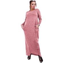Long Maxi Dresses for Women Plus Size with Sleeve