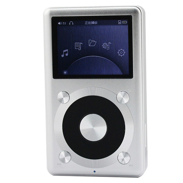 US $158 77 |Portable Mp3 Music Musica Player FiiO X1 Lossless High  Resolution Support DVD,APE,FLAC,ALAC,WMA,WAV VS Fiio x3 Sport Mp3-in MP3  Player