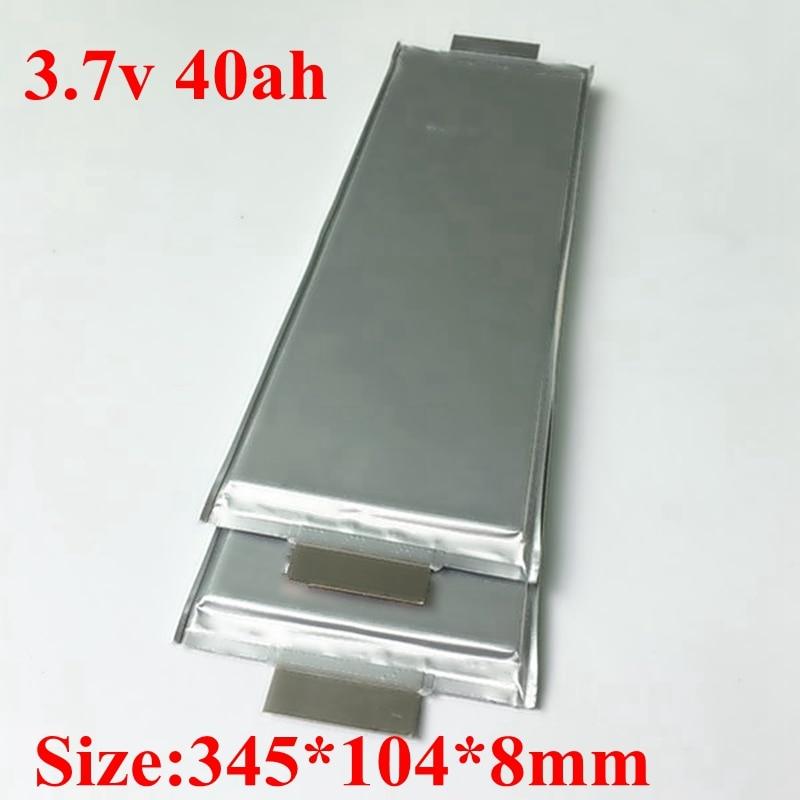 4pcs 3 7v 40Ah High Capacity Li ion Battery 3 7v 40ah Lipo Lithium Cells for
