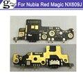 Оригинальный Для ZTE Nubia Red Magic NX609J USB порт быстрая зарядка плата с микрофоном для Nubia RedMagic NX609 USB плата