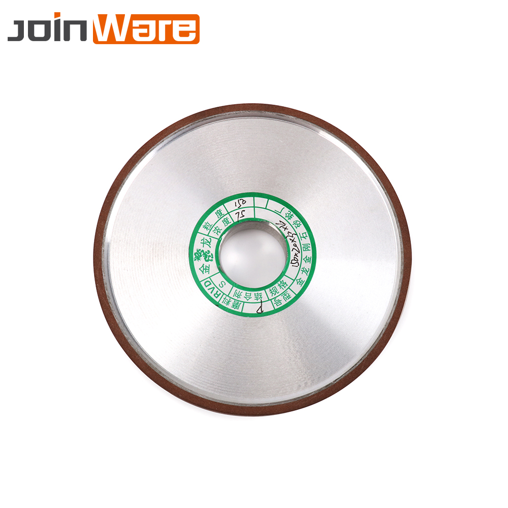 150mm Grit 180 Diamond Grinding Wheel Flat Grinder Wheels Power Tool For Carbide Abrasive Milling Cutter Tool Thickness 20mm diamond angle grinder wheel for glass ceramic grinding dia 100mm and 80mm hole 16mm abrasive pad 120 180 grit m007