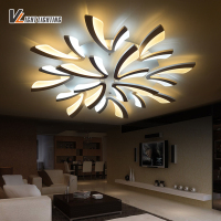 New Acrylic Modern Led Ceiling Lights For Living Room Bedroom Home Lighting Decorative Remote Control LED