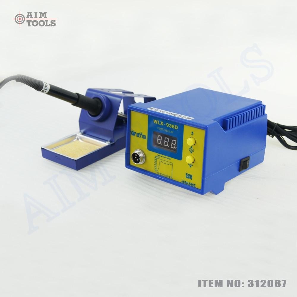 ФОТО 936 Digital Electronic Soldering Rework Station 60W Temperature Control