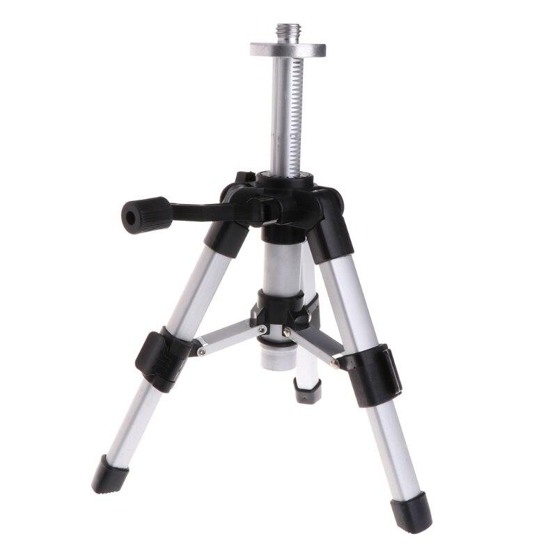 Trépied Portable 5/8 pouces niveau Laser Mini trépieds Aluminium réglable 16-28 cm