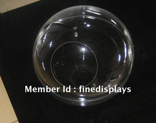 300mm diameter clear acrylic display sphere + one day delivery + special offer for 2012 new year
