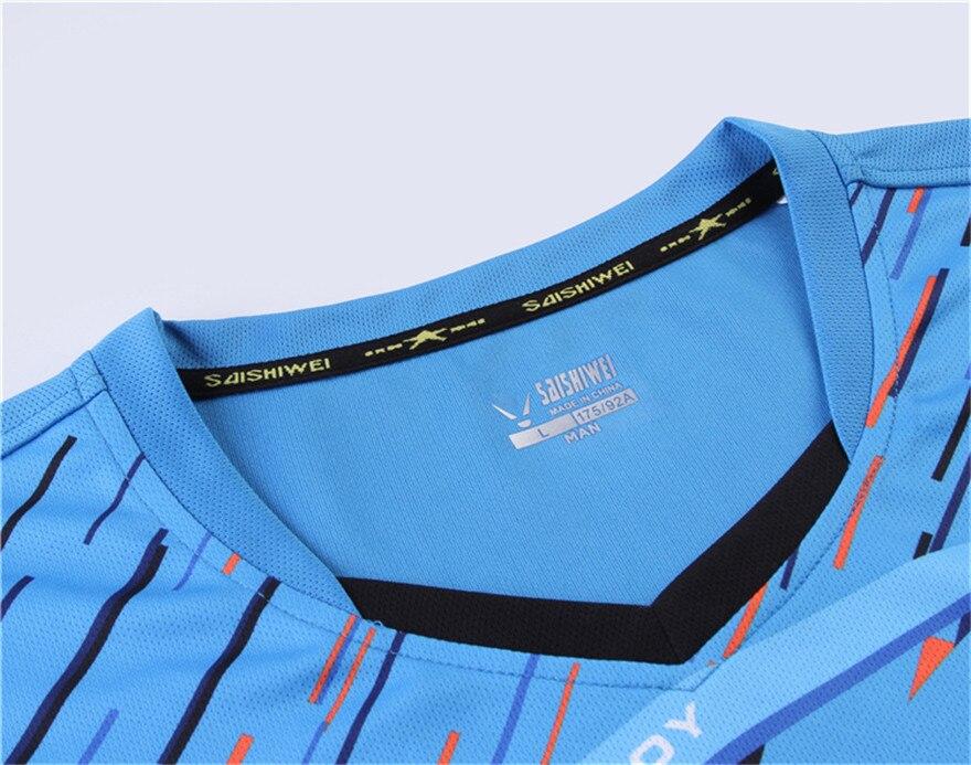 O novo badminton roupas de tênis de