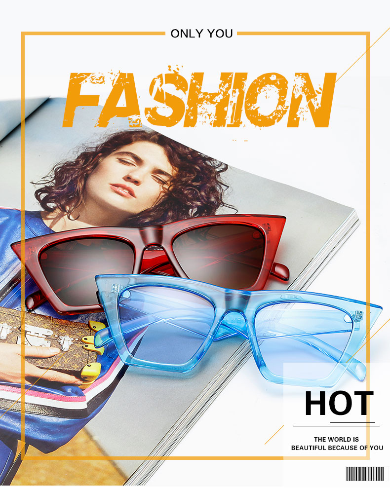 HTB1I3Y6l46I8KJjSszfq6yZVXXa1 - AFOFOO Fashion Women Sunglasses Cat Eye Glasses Lady Brand Designer Retro Sun glasses UV400 Shades Eyewear Oculos de sol
