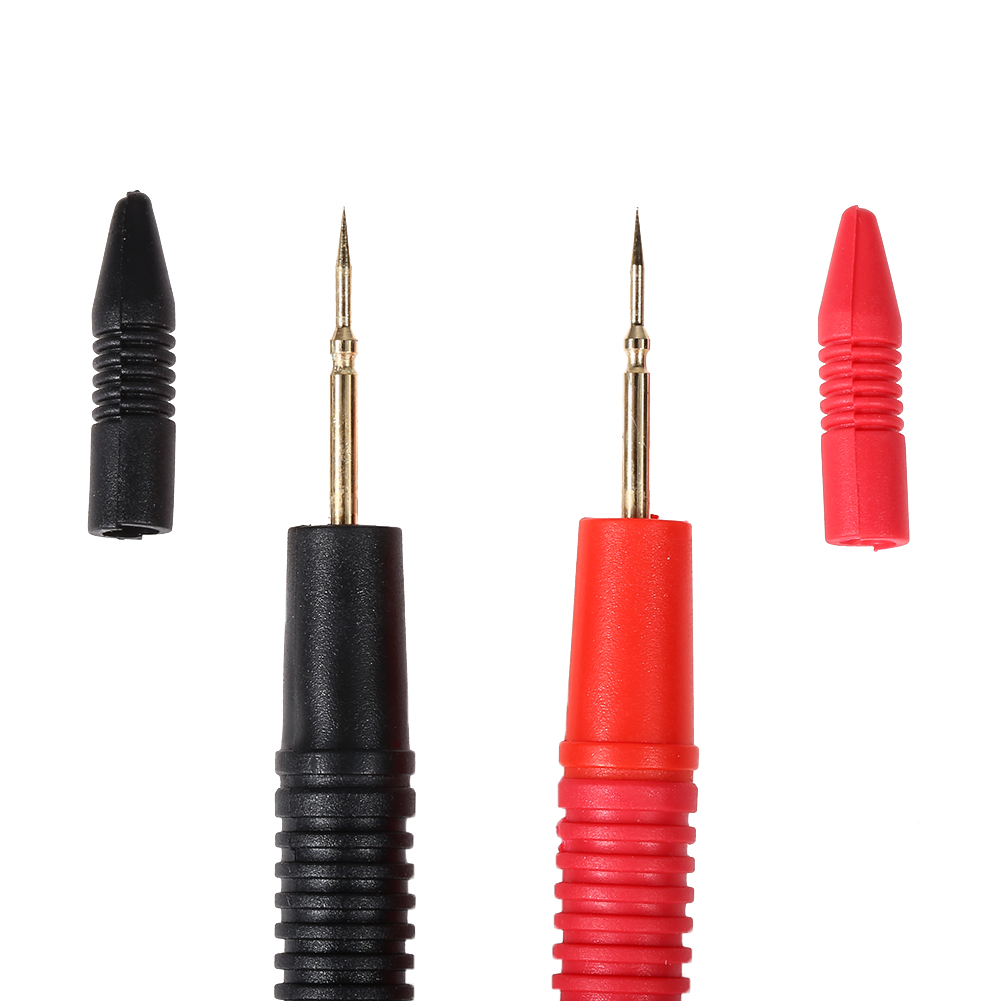 1 Pair 10A Needle Tip Probe Test Leads Pin Hot Universal Digital Multimeter Multi Meter Tester Lead Probe Wire Pen Cable 1pair 2pcs l160mm hook spring test probe tips insulated test wire connector for multimeter stainless steel needle test leads pin