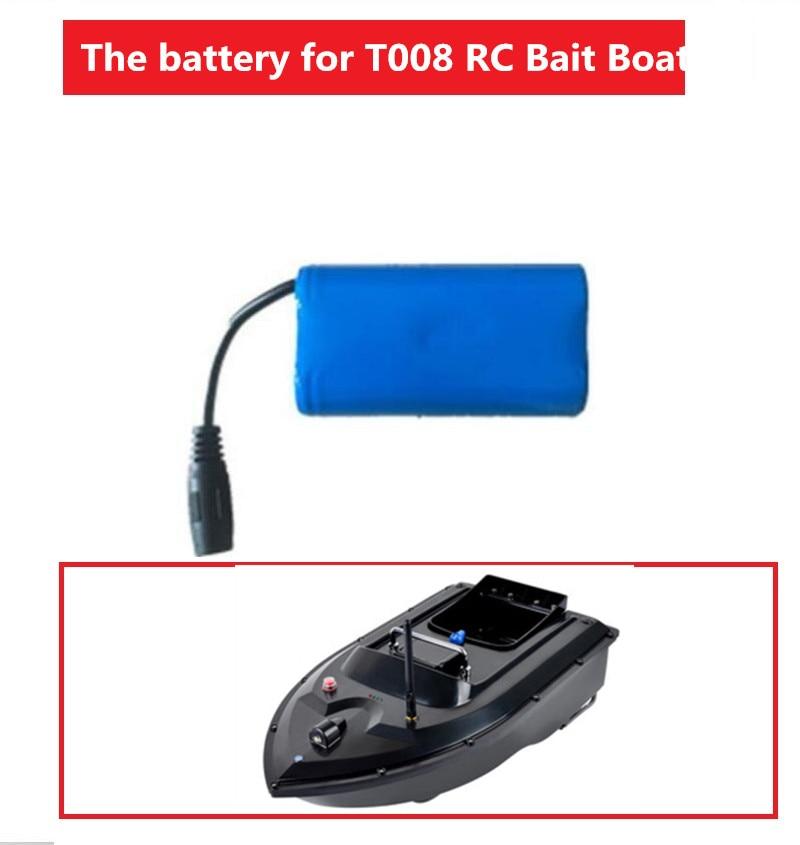 Darmowa wysyłka 1 sztuk 2 sztuk 3 sztuk T008 pilot RC lokalizator ryb elektryczna przynęta na ryby baterii części zamiennych 7.4V 5200mah baterii