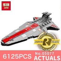 Lepin 05077 6125PCS Star Wars Classic Ucs Republic Cruiser Educational Building Blocks Bricks Toys Model Gift