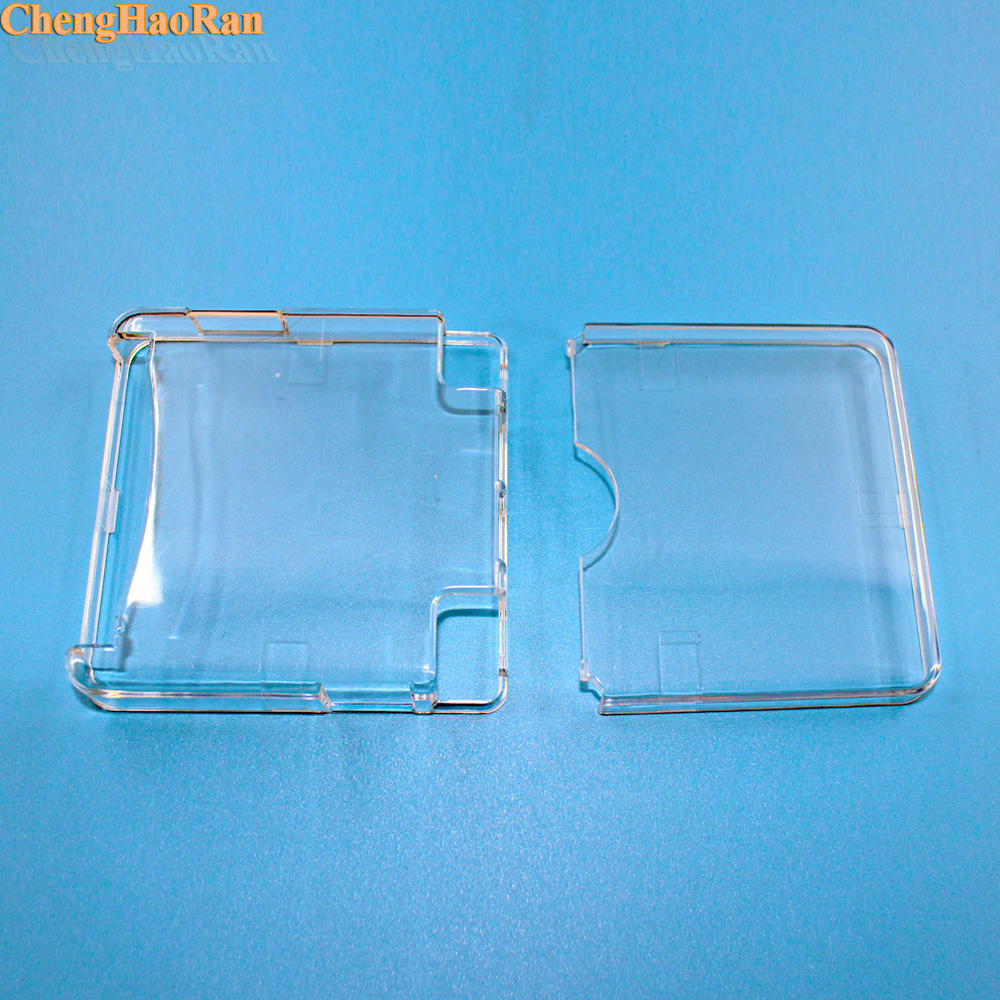Image 3 - ChengHaoRan 1pc Clear Protective Cover Case Shell Housing For Gameboy Advance SP for GBA SP Game Console Crystal Cover Case-in Replacement Parts & Accessories from Consumer Electronics