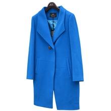 Winter cashmere wool overcoat feminine medium-long thickening woolen outerwear swimsuit collar y-154162-1