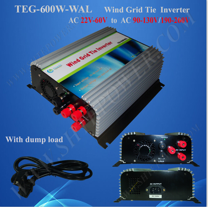 600 watt ac to ac inverter wind grid tie 90-130V/190-260V micro controller micro inverters on grid tie with mppt function 600w home solar system dc22 50v input to ac output for countries standard use