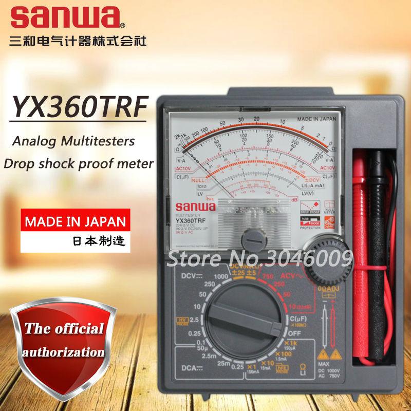 sanwa YX360TRF simulation multimeter, pointer type best-selling multimeter zero center instrument 200Mohm resistance measurement