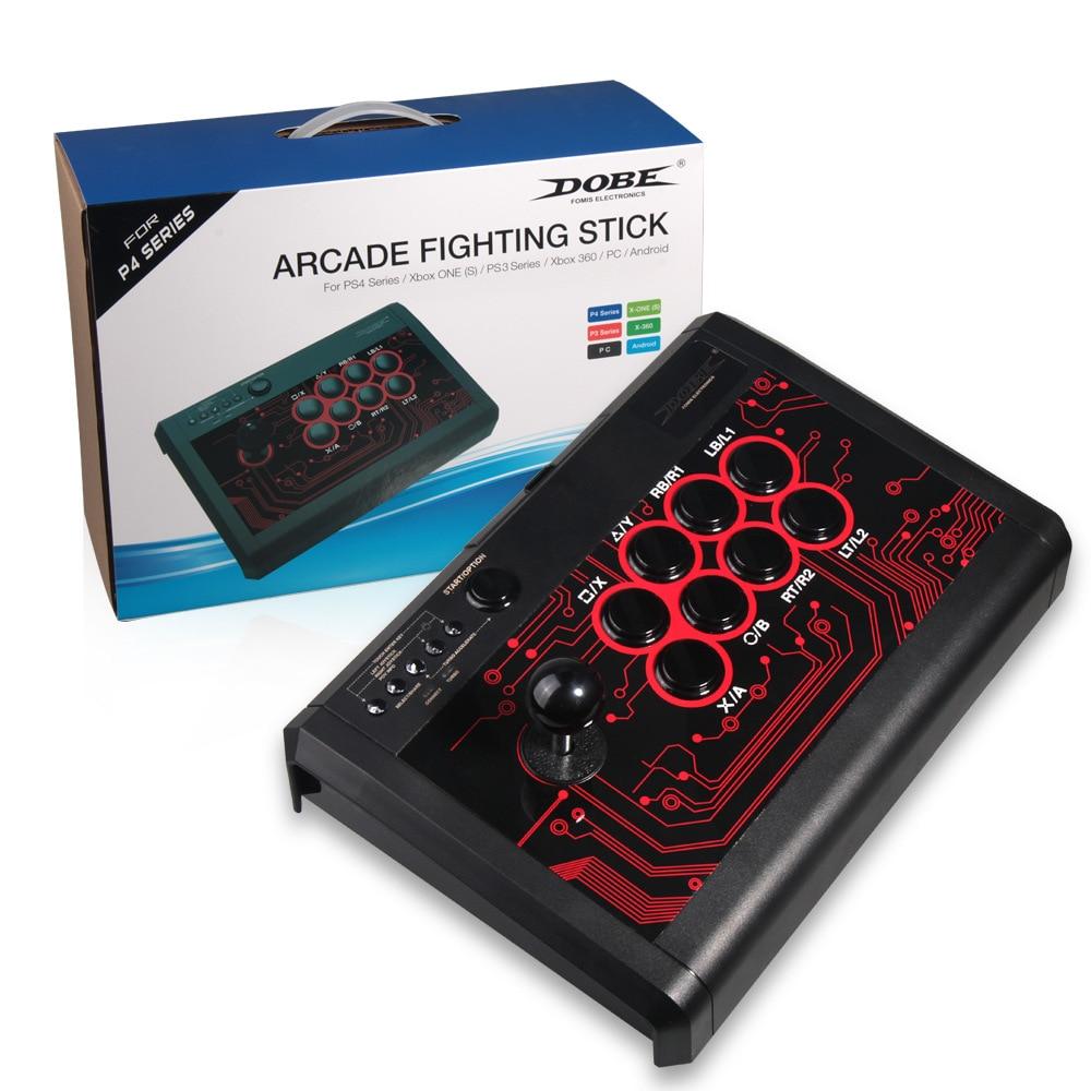 USB Filaire Contrôleur de Jeu D'arcade de Combat Joystick Bâton pour PS3 PS4 Xbox un 360 Android PC Joystick Contrôleur de Jeu