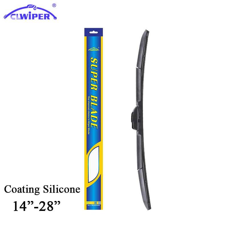 CLWIPER Super Coated Silicone Windshield Wiper Blade Fit For Hook arm 14