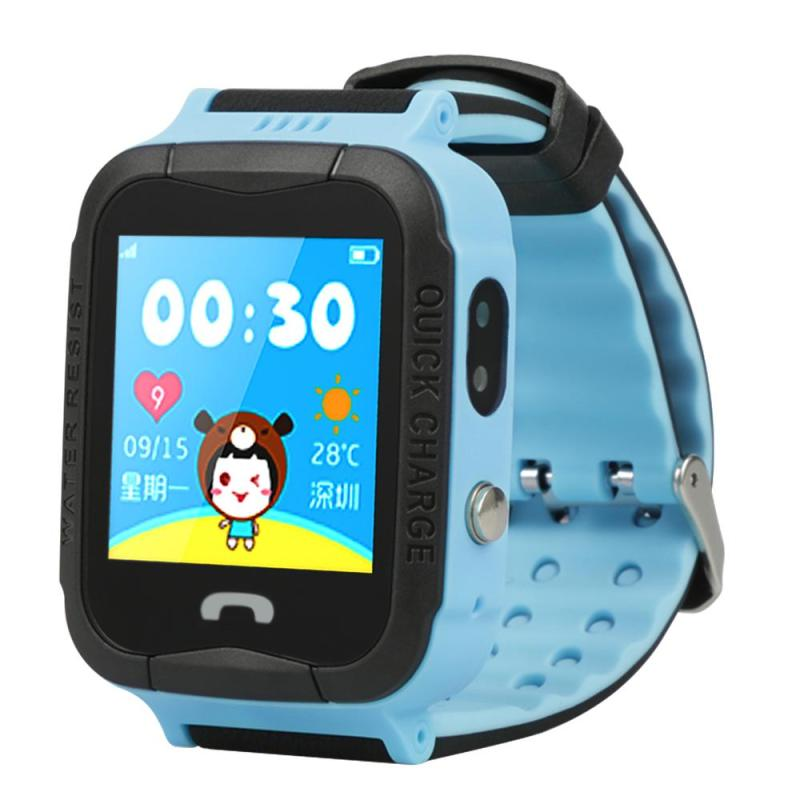 V6G Kids Smart Watch GPRS GPS WiFi Positioning Location SOS Safe Waterproof Touch Children Watch With Camera For Android IOS