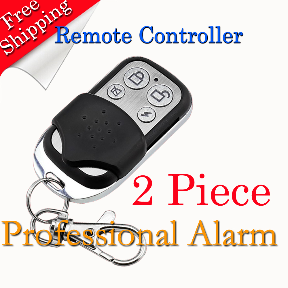 2015 New Selling Free Shipping Wireless Remote Controller 433MHz for GSM Alarm System Metal Design free shipping dc12v 433mhz metal