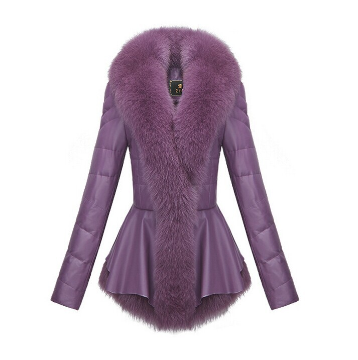 New Design Fashion Leather Coat Winter Down Jackets Womenu0026#39;s Winter Coat Jacket Women Coat ...