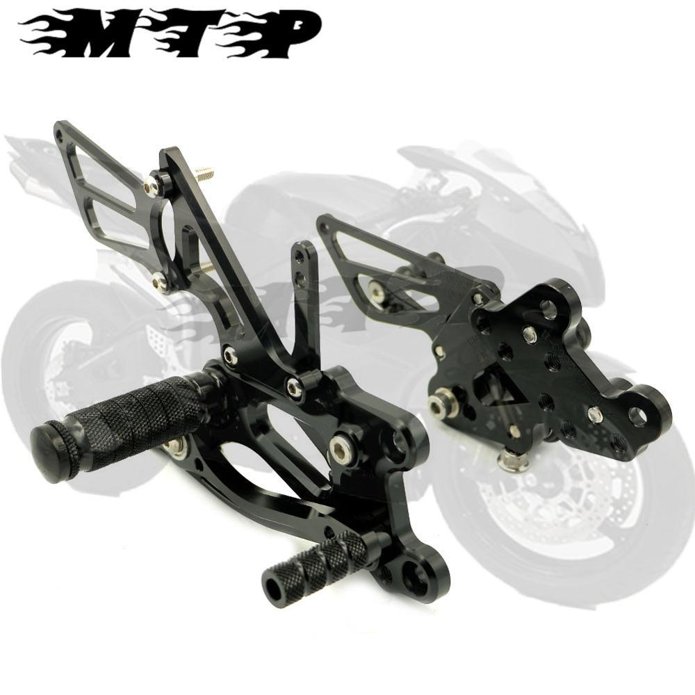 Racing Rearsets Kit Footpegs For Honda CBR600RR 2003 2004 2005 2006 Footrests