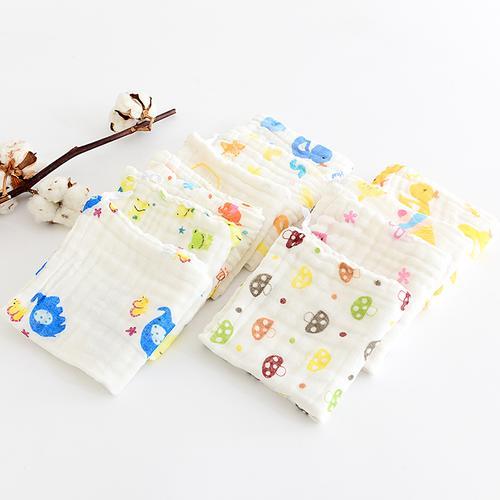 Random 2018 Cartoon Newborn Bibs 1Pcs Infant Kids Baby Burp Feeding Saliva Towel Cool Accessories Infant Saliva Towel