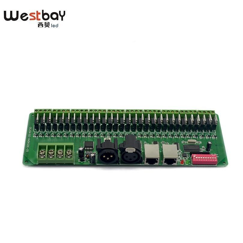 Pulsuz çatdırılma Easy DMX 30CH LED RGB Controller, dekoder və - İşıqlandırma aksesuarları - Fotoqrafiya 5