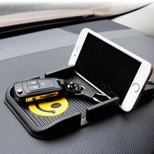 Silicone Car Anti Slip Mat Magic Dash Mat Dashboard Sticky Pad For Phone GPS PDA Non Slip Pad Car Phone Number Non-slip Frame