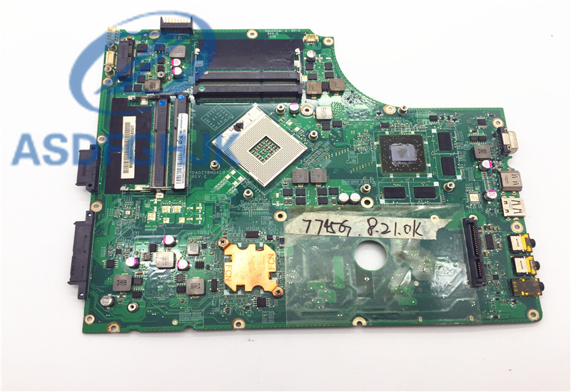 все цены на Laptop Motherboard DA0ZYBMB8E0 for acer 7745 Motherboard MBPTZ06001 MB.PTZ06.001 DDR3 Non-Integrated 100% full Tested онлайн