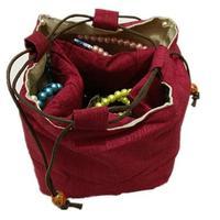 ธรรมดาหลายตารางถุงผ้าฝ้ายDrawstringตารางด้านล่างของขวัญบรรจุภัณฑ์กระเป๋าลูกปัดสร้อยข้อมือสร้...