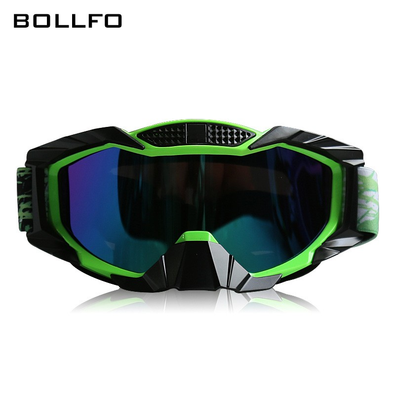 New Professional Motocross Biker Helmet Goggles Dustproof Winter Snow Skiing Skating Glasses Anti UV Eyewear Hiking Spectacles