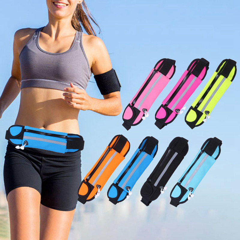 Armbands Sports Running Armband Case Sport Waist Pocket Mobile Phone Bags Camping Belt Fitness Pouch 6.5 Inch Double Warehouse Bag Without Return