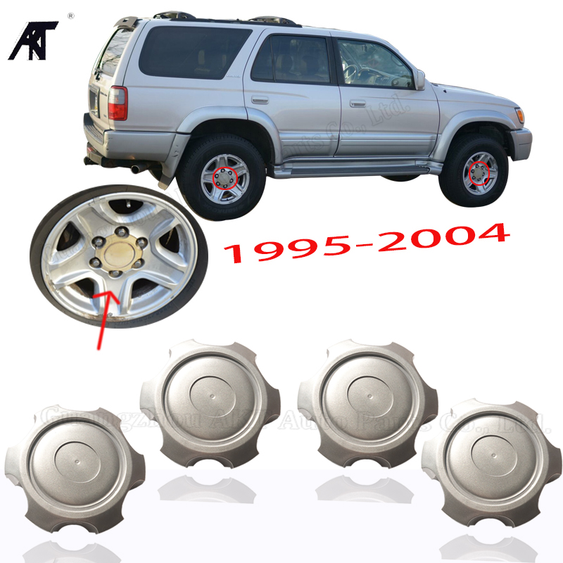 4X Wheel Center Hub Cap Logo Cover Shell With logo For Toyota Prado FJ150 14-15