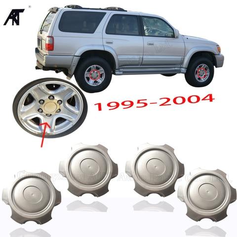 4 pcs lote cap centro da roda para toyota prado 2700 3400 vzj95 1998 2002