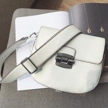 Crossbody-tasche Für Frauen Sattel Handtaschen Blau 2017 Leder Mini Sommer Tasche Weiß Neue Marke Designer Umhängetasche Vento Marea