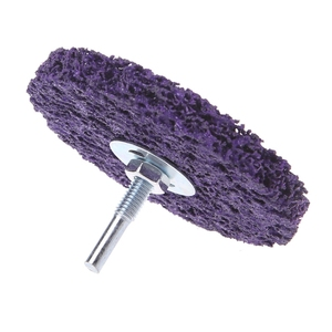 Image 4 - Discos para amoladora angular de limpieza, tira de polietileno, desoxidante, 100mm x 6mm