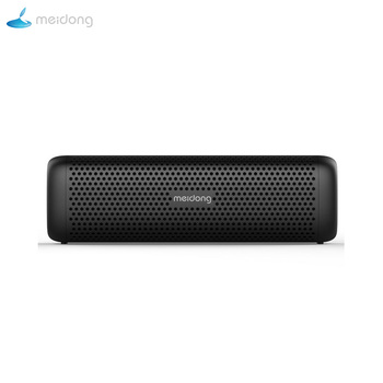 Meidong 6110 Mini Wireless Bluetooth 4.1 Stereo Portable Speaker with 15W Enhanced Bass Microphone TF Card Outdoor MP3 Player PC